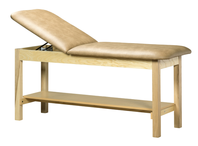 Image for Clinton Classic Series Treatment Table with Shelf from SSIB2BStore