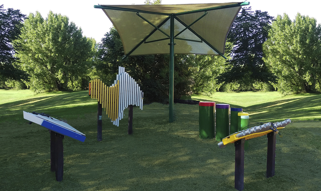 Image for Ultra Play Systems Inc Deluxe Collection (in Ground), 43 W X 31 D X 15 H In from School Specialty