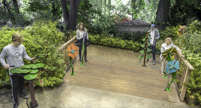 Image for Ultra Play Systems Inc Botanical Collection (in Ground), 274 W X 142 D X 104 H In from School Specialty