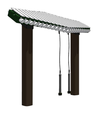 Image for Ultra Play Systems Inc Pegasus Inground Mount, 66 W X 12 D X 12 H In from School Specialty