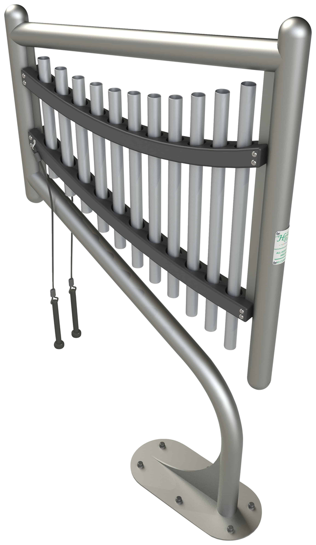 Image for Ultra Play Systems Inc Harp Inground Mount, 79 W X 26 D X 7 H In from School Specialty