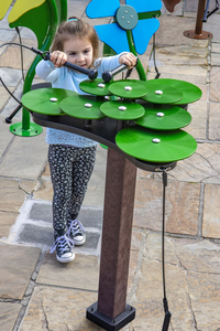 Image for Ultra Play Systems Inc Green Lily Pad Inground Mount, 174 W X 90 D X 52 H In from School Specialty