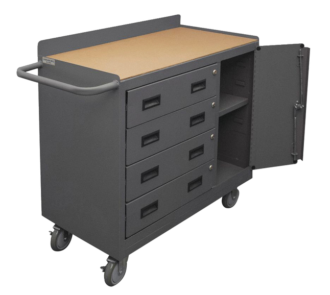 Image for Grainger Hardboard Mobile Cabinet Workbench from School Specialty