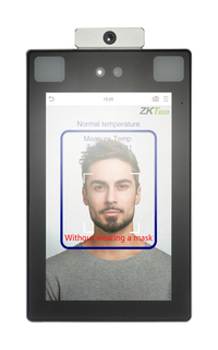 Image for ZKTeco SF1008+ Body-Temperature Detecting Facial Recognition Reader from School Specialty