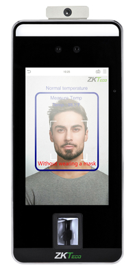 Image for ZKTeco SF1005-V+ Body-Temperature Detecting Facial Recognition Reader from School Specialty