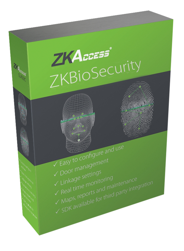 Image for ZKTeco ZKBioSecurity Software from School Specialty