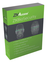 Image for ZKTeco ZKBioSecurity Software from SSIB2BStore