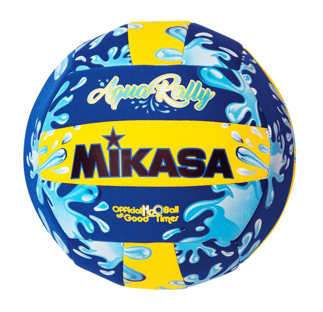 Image for Mikasa Aqua Rally Volleyball, Blue/Yellow from School Specialty
