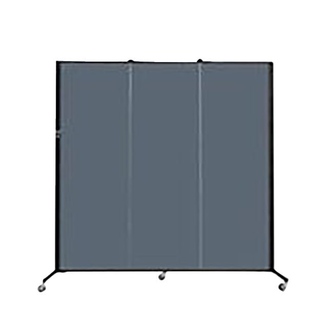 Image for Screenflex Portable Partitions Inc Healthflex Partition 3 Panel, Specify Panel Color, 5 Feet 9 Inches X 5 Feet 9 Inches from School Specialty