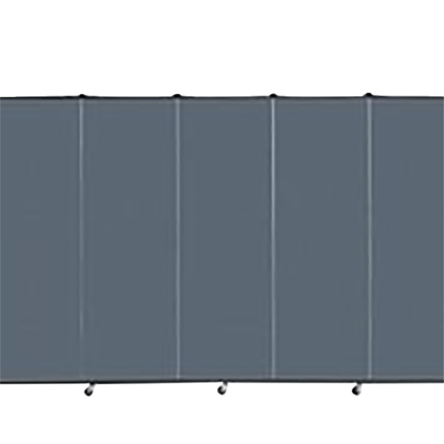 Image for Screenflex Portable Partitions Inc Healthflex Partition 5 Panel, Specify Panel Color, 5 Feet 9 Inches X 9 Feet 5 Inches from School Specialty