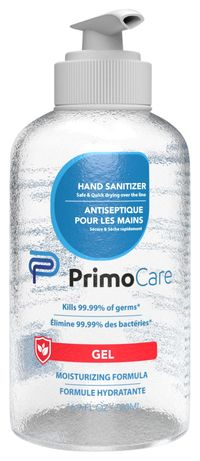 Image for Primo Care Hand Sanitizer, Pump Bottle, 16.9 Ounces, Box of 42 from School Specialty