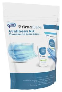 Image for Primo Wellness Kit, Mask, Sanitizer, Wipes, Each from SSIB2BStore