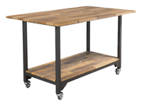 Image for VARI Standing Conference Table, Reclaimed Wood from School Specialty