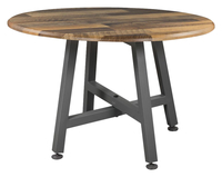 Image for VARI Round Table, Reclaimed Wood from School Specialty
