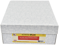 Image for School Smart Kwik-Tak Security Tinted Envelopes, No. 10, White, Box of 500 from School Specialty