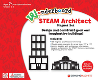Image for Dowling Magnets Wonderboard STEAM Architect Magnet Set from School Specialty