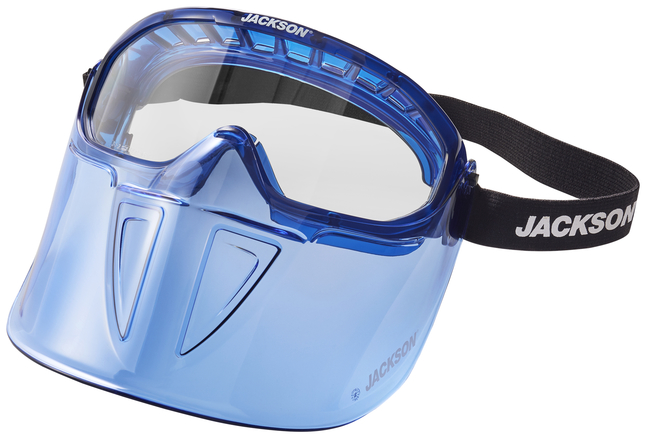 Image for Surewerx GPL500 Premium Blue Goggle with Detachable Face Shield from School Specialty