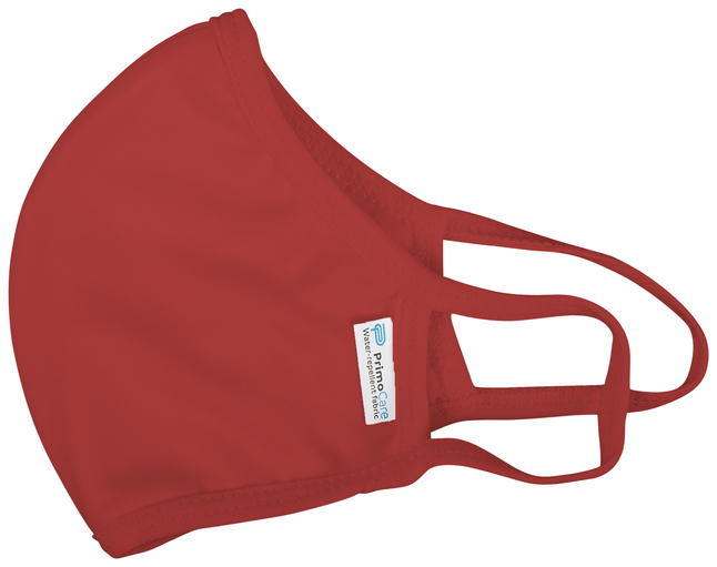 Image for Reusable, Anti-microbial Face Mask, Red, Adult, Pack of 5 from School Specialty