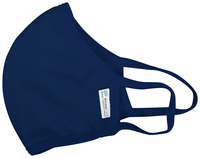 Image for Reusable, Anti-microbial Face Mask, Navy Blue, Childrens, Pack of 5 from School Specialty