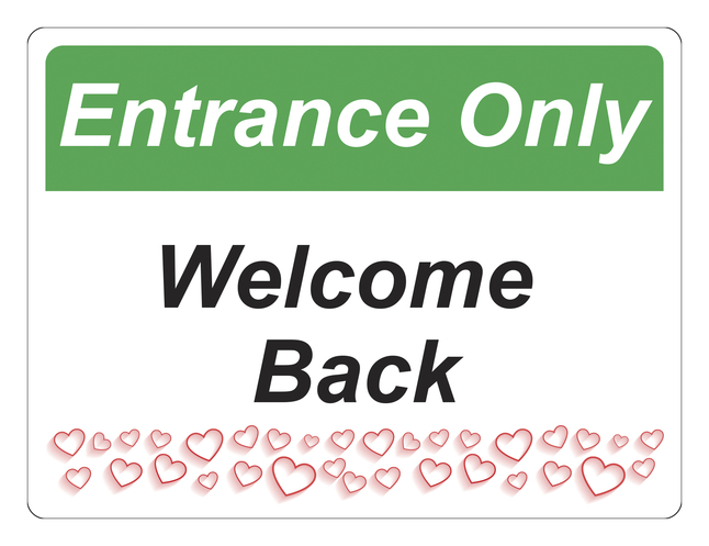 Image for Critical Communication Sign, Entrance Only, Pack of 5 from School Specialty