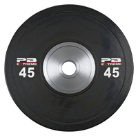 Image for Legend Fitness Pro Series 45lb Bumper Plate, Set of 2 from SSIB2BStore