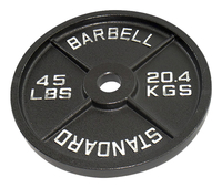 Image for Legend Fitness Performance Series 45lb Grip Plate, Each from SSIB2BStore