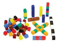 Unifix Cubes, Ten Assorted Colors, Set of 500 Item Number 204030