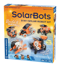 Image for Thames and Kosmos SolarBots: 8-in-1 Solar Robot Kit from SSIB2BStore