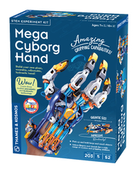 Image for Thames and Kosmos Mega Cyborg Hand from SSIB2BStore