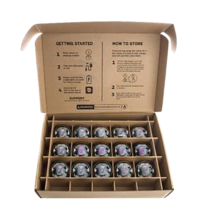 Image for Sphero Inc BOLT App-Enabled Educational Coding Robot Balls, Pack of 15 from School Specialty