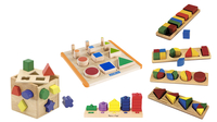 Manipulatives, Shapes, Item Number 2040835