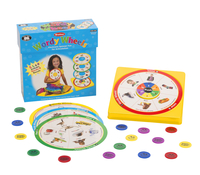 Image for Super Duper Wordy Wheels Electronic Spinner Game for Articulation from School Specialty