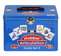 Image for Super Duper Articulation Cards with Illustrations, Set 2 (SH, CH, TH, F, V, K, and G) from School Specialty