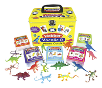 Image for Super Duper Vocalic R Photo Cards with Reptile Reinforcers, 5 Decks from School Specialty