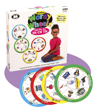 Image for Super Duper Wordy Wheels Game Add-on Set, (SH, CH, and TH) from School Specialty