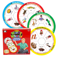 Image for Super Duper Wordy Wheels Game Add-On Set (K, G, T, and D) from School Specialty