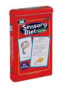 Image for Super Duper Sensory Diet Cards from School Specialty