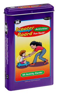 Image for Super Duper Scooter Board Fun Deck from School Specialty