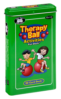 Image for Super Duper Therapy Ball Fun Deck from School Specialty