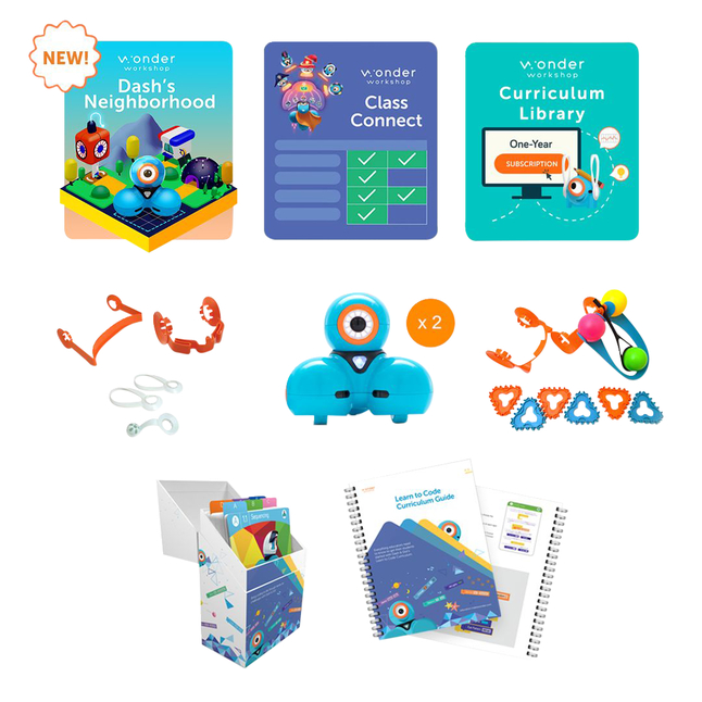 Image for Wonder Workshop Dash Starter Pack with Class Connect for 2 years from School Specialty
