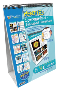 Image for NewPath Learning Coronavirus Disease & Prevention Flip Chart Set from School Specialty