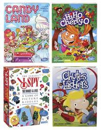 Childcraft Classic Games, Set of 4 Item Number 204347