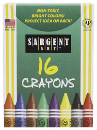 Image for Sargent Art Crayons, Tuck Box, Set of 16 from SSIB2BStore