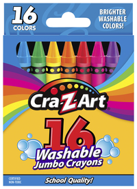 Image for 16ct Washable Jumbo Crayons from SSIB2BStore