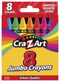 Image for 8ct Jumbo Crayons from SSIB2BStore