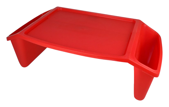 Image for Romanoff Products Lap Tray, 22-1/2 x 11-3/4 x 8-1/4 Inches, Red from School Specialty