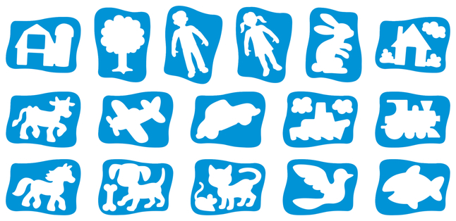 Stencils and Stencil Templates, Item Number 2044832