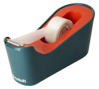Image for Scotch Classic Tape Dispenser, Sea Green/Coral from School Specialty