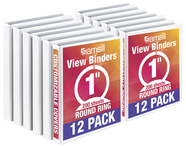 Round Ring Presentation Binders, Item Number 2048128