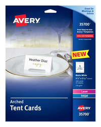 Place Cards, Tent Cards, Item Number 2048280